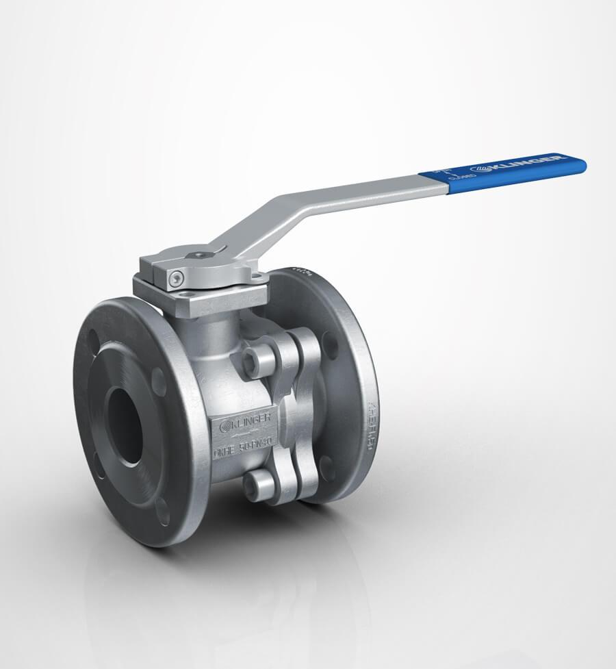 klinger ball valve KHE-FK